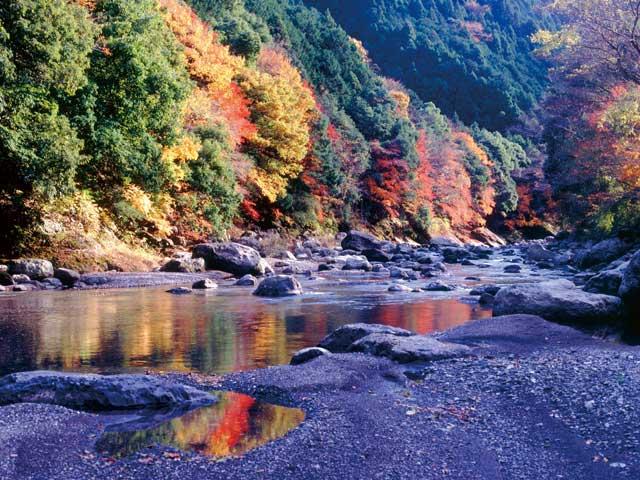 福士川渓谷