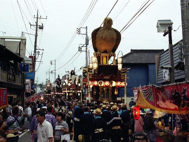 佐原の大祭・夏祭り(八坂神社祇園祭)