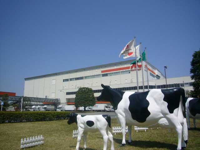 森永乳業 東京多摩工場(見学)