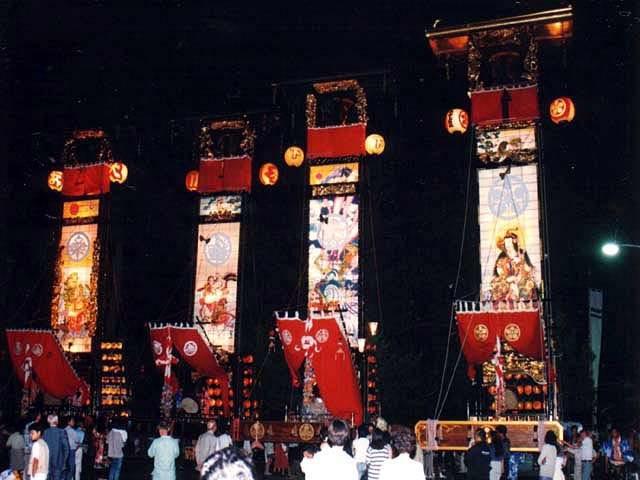 寺家(じけ)キリコ祭り