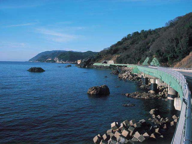 越前・河野しおかぜライン(旧河野海岸有料道路)