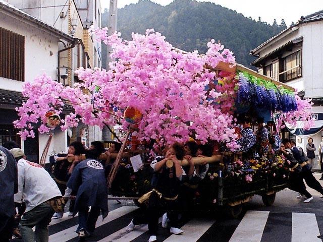 足助春祭り