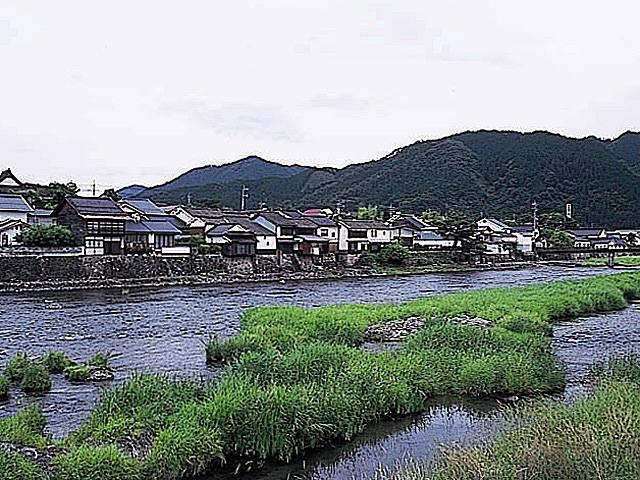 勝山の町並み保存地区