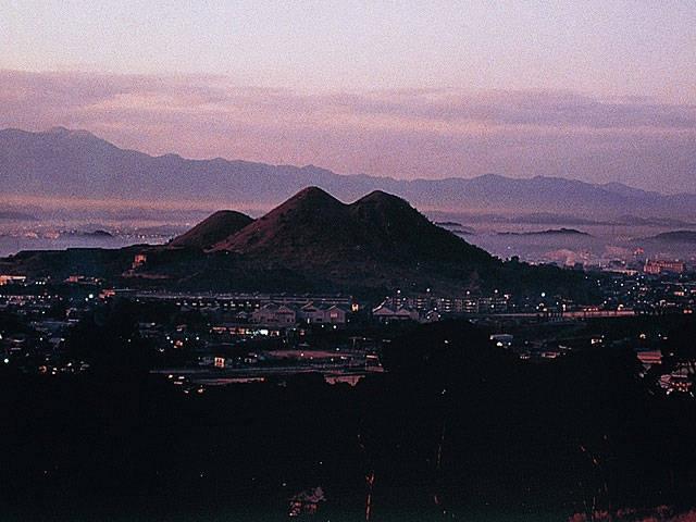 ボタ山(筑豊富士)