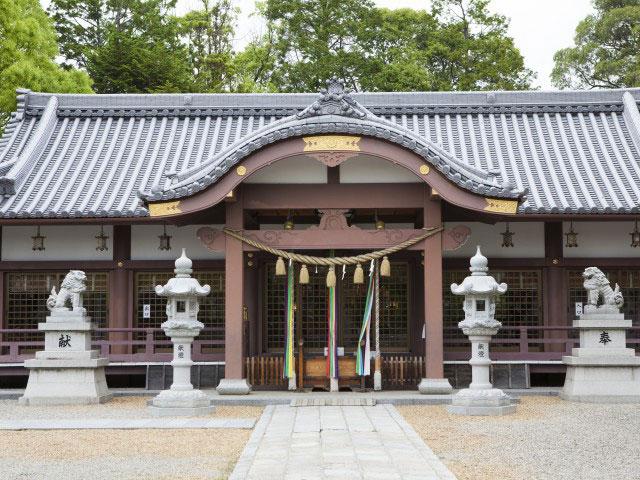百濟寺跡・百濟王神社