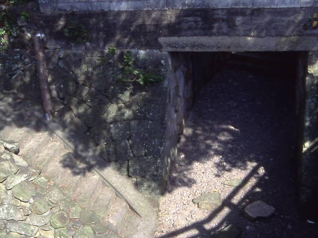 田辺城水門跡