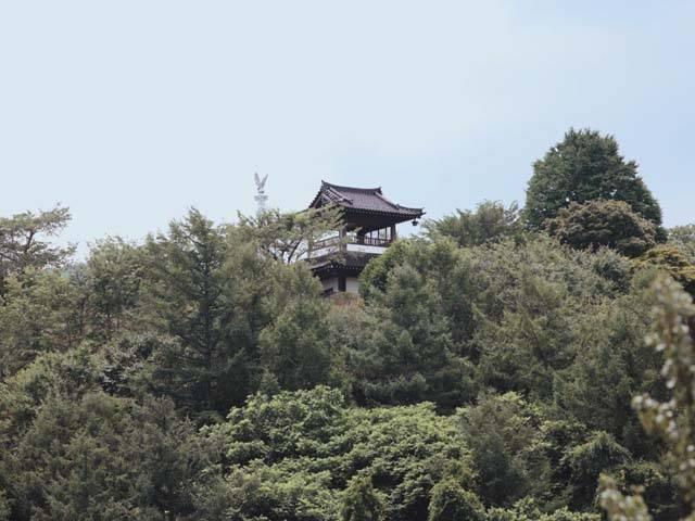 鍋倉公園展望台