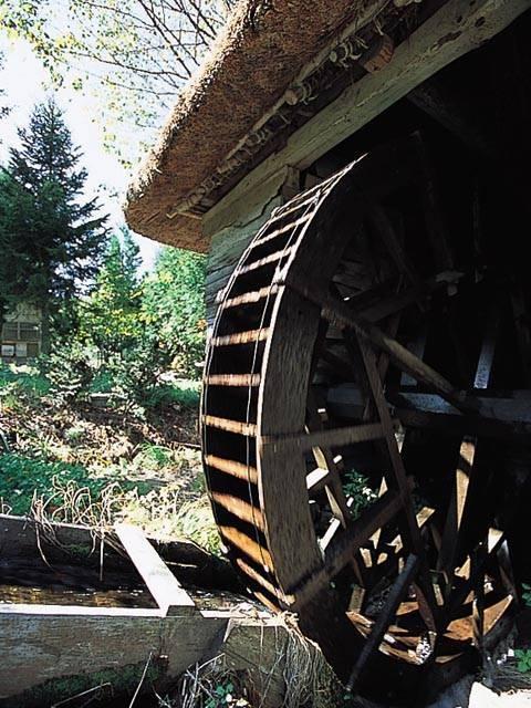 山口の水車