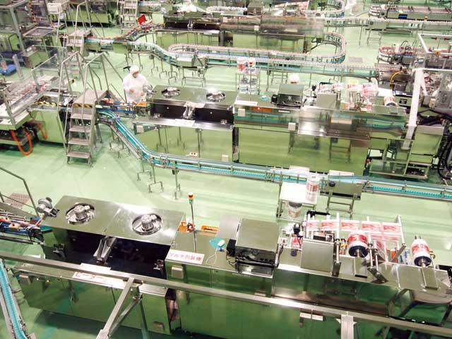 岩手ヤクルト工場(見学)