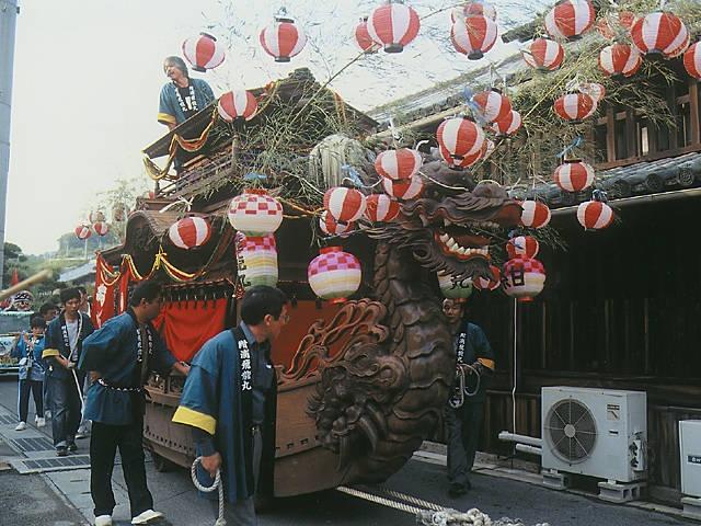 牛窓秋祭り