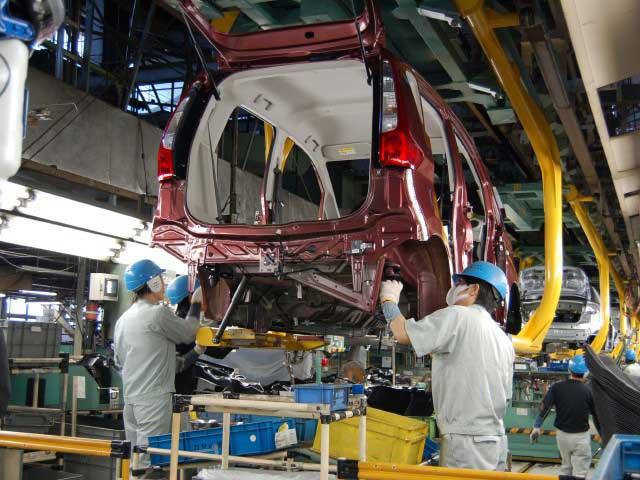 三菱自動車工業 水島製作所(見学)