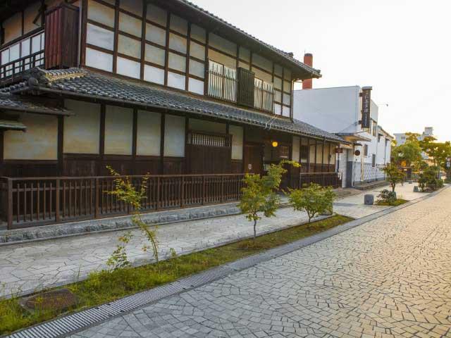 熟田津の道