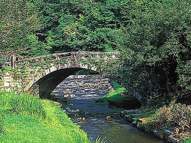 秋月目鏡橋