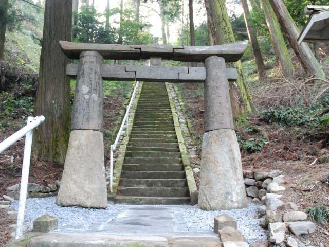 室園神社の肥前鳥居
