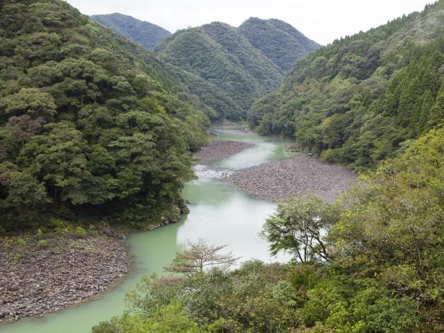 小丸川渓谷