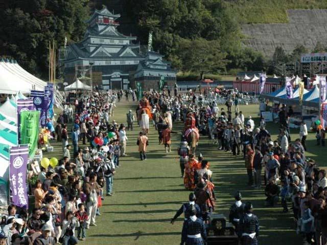 大隅の國やっちく松山藩「秋の陣まつり」