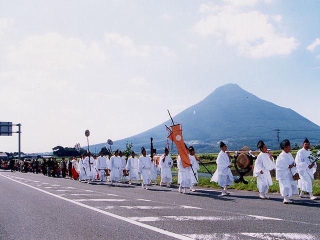 枚聞神社ほぜ祭り