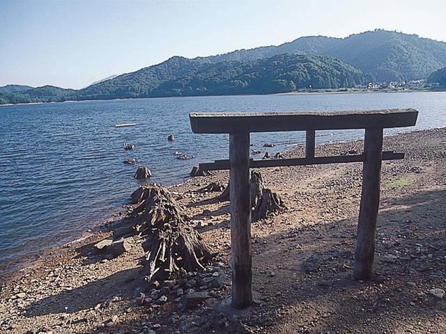 大山祗神社の鳥居